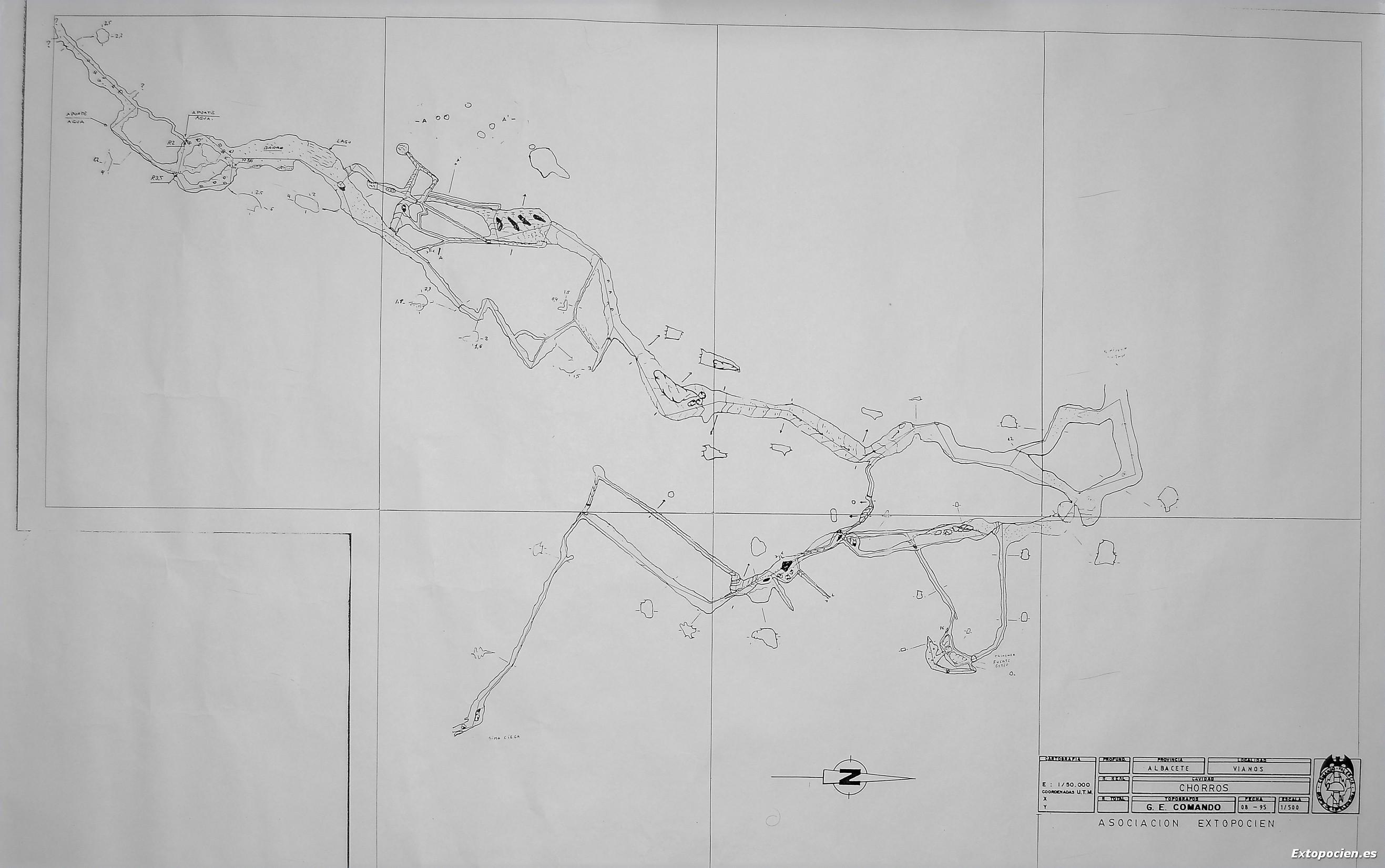 Gal. del Barro entre Sima Mateo y paso Blaselda