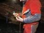 Cueva de Chorros, instalación de sensores, 17-04-2021