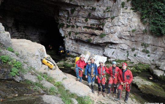 Cueva de Chorros, Toma de datos de los sensores 12-10-2019